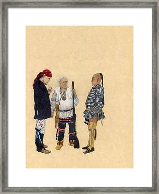 Fort Toulouse Traders Framed Print by Beth Parrish