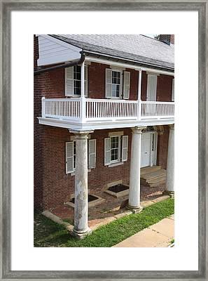Fort Washington Park - 121229 Framed Print by DC Photographer