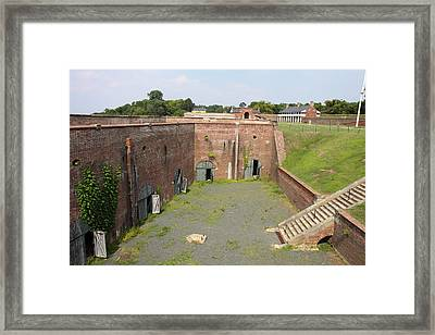 Fort Washington Park - 121234 Framed Print by DC Photographer