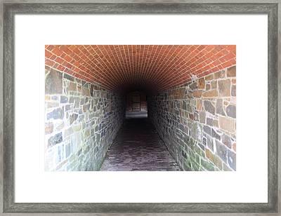 Fort Washington Park - 121239 Framed Print