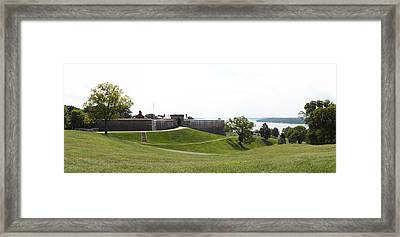 Fort Washington Park - 12124 Framed Print by DC Photographer
