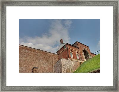 Fort Washington Park - 12127 Framed Print by DC Photographer