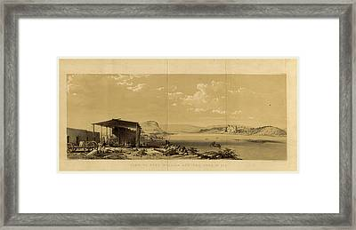 Fort William And The Town Of Bir, Narrative Framed Print by Litz Collection