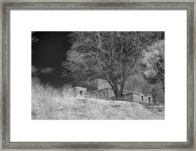 Fort Williams In Ir 3 Framed Print by Joann Vitali