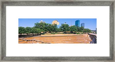 Fort Worth, Texas Framed Print by Panoramic Images