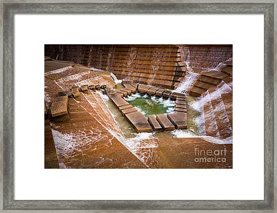 Fort Worth Water Gardens Framed Print