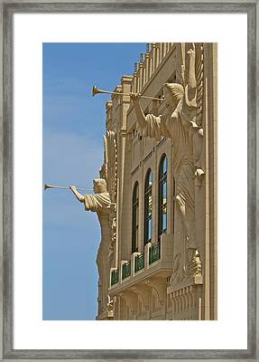 Fort Worth's Angels Framed Print by John Babis