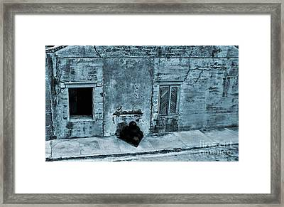 Fort Zachary Taylor Framed Print by Claudette Bujold-Poirier
