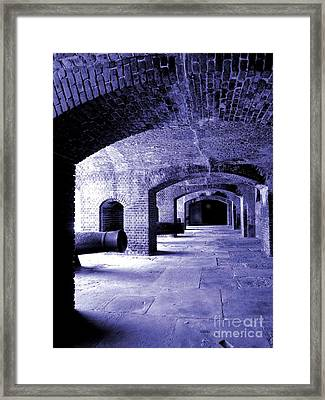 Fort Zachary Taylor2 Framed Print by Claudette Bujold-Poirier