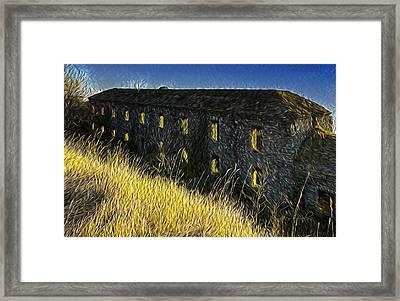 Forte Ratti 4741 - By Enrico Pelos Framed Print by Enrico Pelos