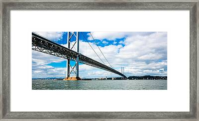 Forth Road Bridge Framed Print