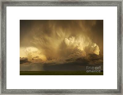 Forthcoming Calamity Framed Print