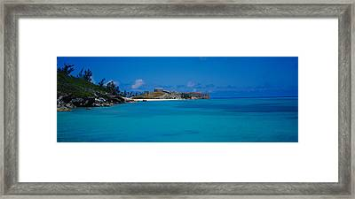 Fortress At The Waterfront, Fort St Framed Print