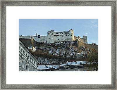 Fortress On The Hill Framed Print