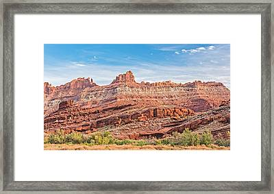 Fortress Utah - Moab Utah Photograph Framed Print by Duane Miller