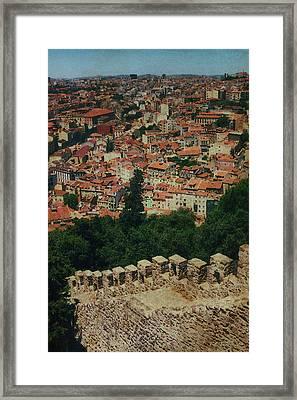 Fortress Wall Framed Print by Bill Jonas
