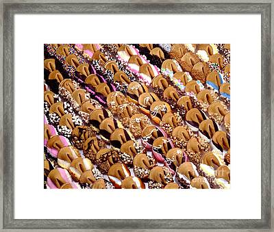 Fortune Cookies Framed Print by Iris Richardson