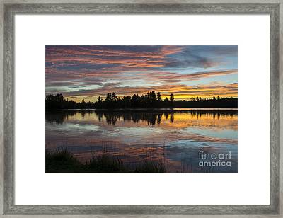Fortune Lake Framed Print