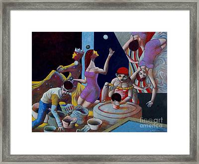 Fortune Sellers Framed Print by Paul Hilario