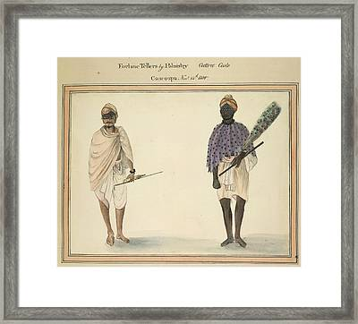 Fortune Tellers By Palmistry Framed Print by British Library