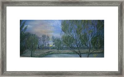 Forty Acres  Framed Print