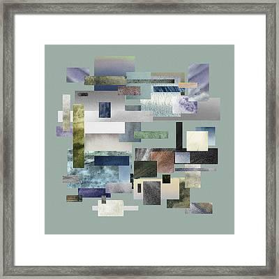 Forty Nine Shades Of Gray IIi Framed Print by Irina Sztukowski