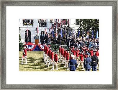 Forward March Framed Print by Douglas Adams