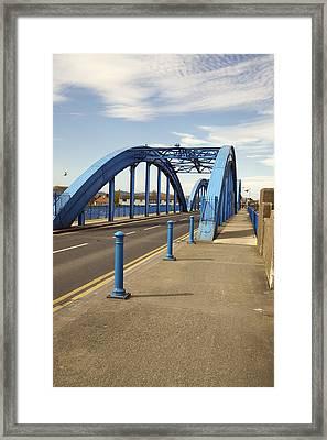Foryd Bridge Framed Print by Christopher Rowlands