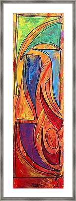 Forza Framed Print by Marcello Cicchini