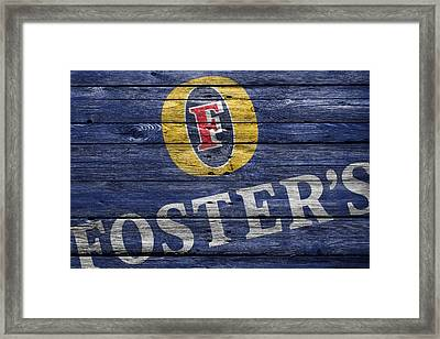 Fosters Framed Print