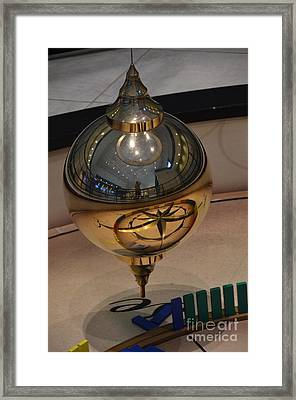 Framed Print featuring the photograph Foucalt's Pendulum by Robert Meanor