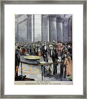 Foucault's Pendulum Framed Print by Cci Archives