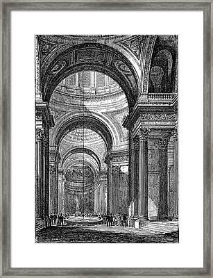 Foucault's Pendulum Framed Print