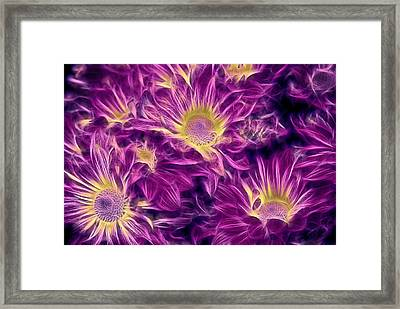 Foulee De Petales - 32afrp2 Framed Print by Variance Collections
