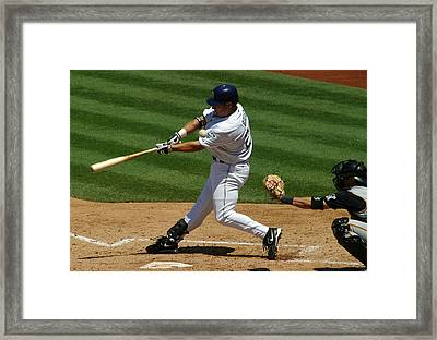 Fouling One Off Framed Print by Don Olea