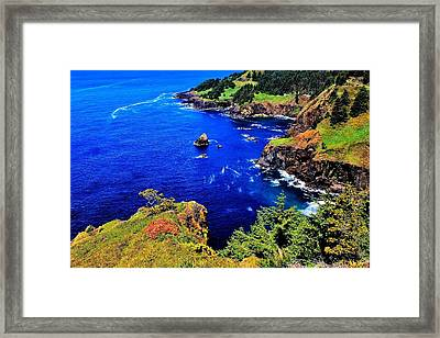 Foulweather Framed Print by Benjamin Yeager