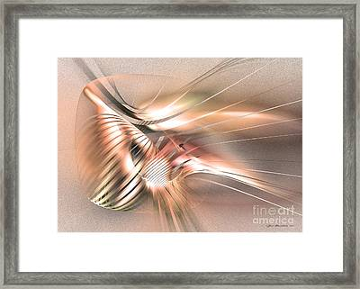 Found By Nile - Abstract Art Framed Print