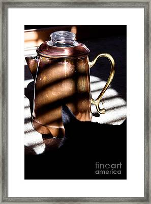 Framed Print featuring the photograph Found In A Sunbeam by Lawrence Burry