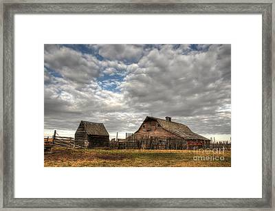Found On The Prairies Framed Print