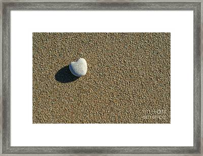 Found Framed Print by Ste Flei