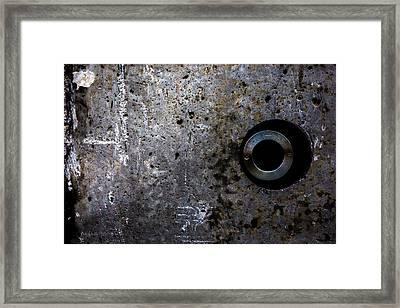 Foundation Number Seventeen Spy Framed Print