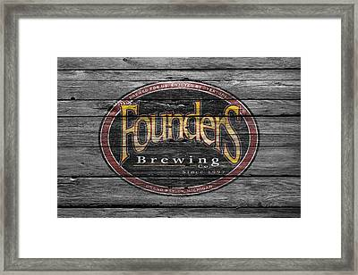Founders Brewing Framed Print by Joe Hamilton