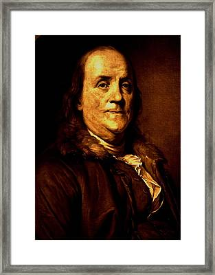 Founding Father Framed Print by Benjamin Yeager