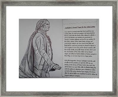 Founding Fathers Framed Print by Christy Saunders Church