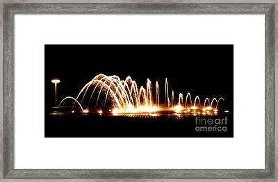 Fount Camana Framed Print by Amar Sheow