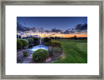 Salem Ohio Golf Framed Print by David Dufresne