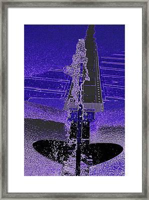 Fountain Framed Print by Jenna S