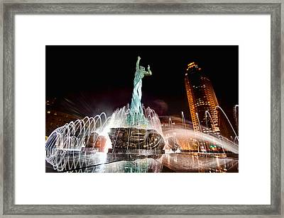 Fountain Of Eternal Life Framed Print