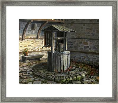 Fountain Of Life Framed Print by Kiril Stanchev