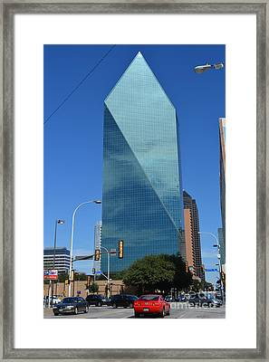 Fountain Place Building  Framed Print by Ruth  Housley